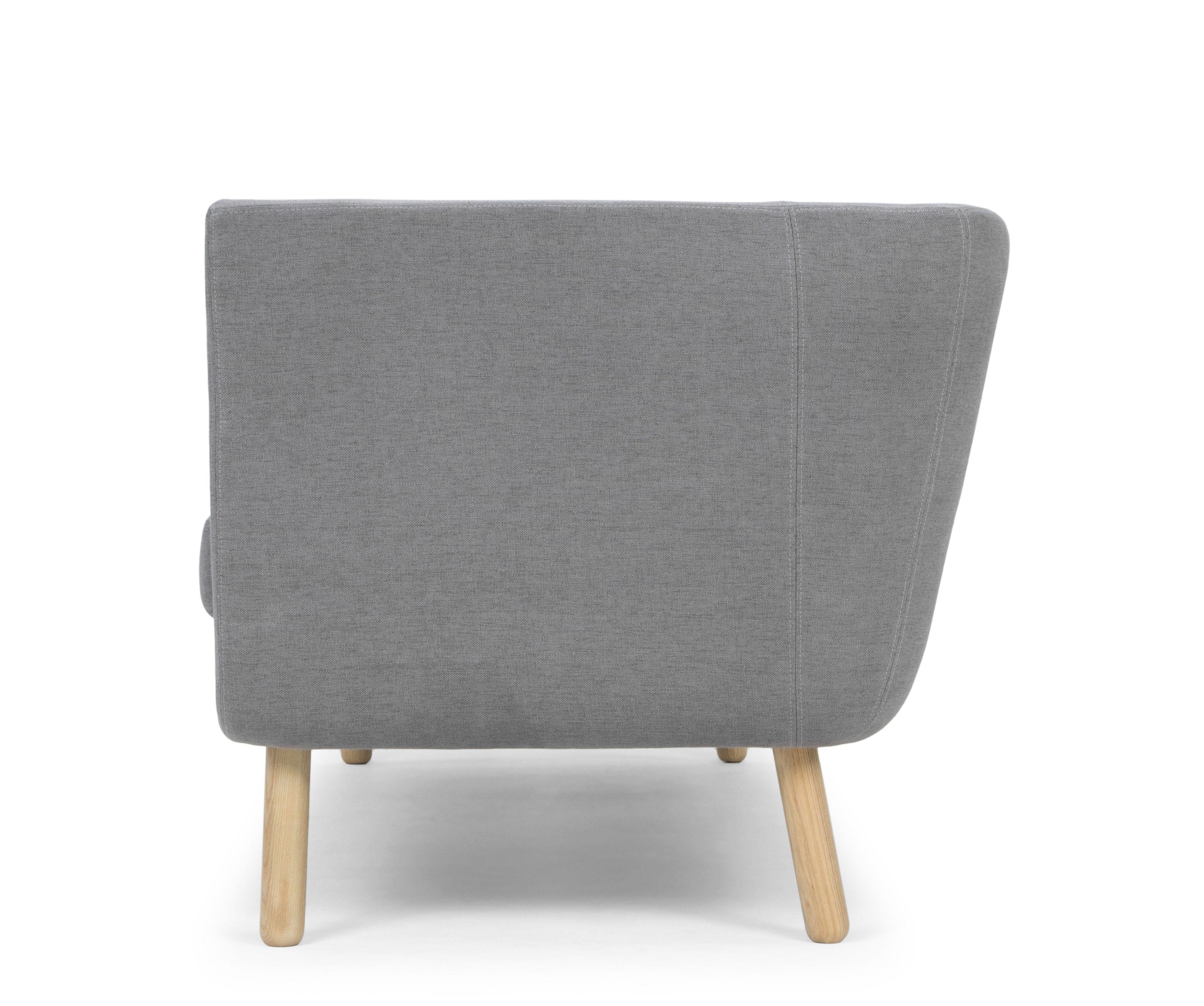 canap droit nest l 204 cm gris design house stockholm made in design. Black Bedroom Furniture Sets. Home Design Ideas