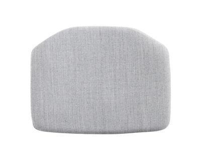 Déco - Coussins - Coussin d'assise / Pour chaise J77 - Hay - Gris clair / Tissu Surface - Tissu Surface