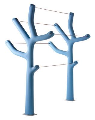 Mobilier - Compléments d'ameublement - Etendoir à linge Alberto - Casamania - Bleu clair - Polyéthylène