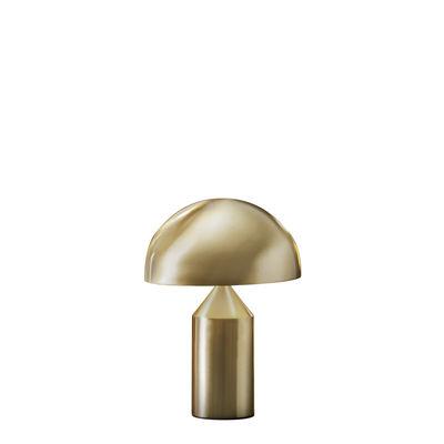 Lampe à poser Atollo Small Métal / H 35 cm / Vico Magistretti, 1977 - O luce or en métal
