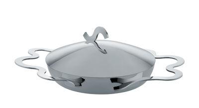 Cucina - Pentole, Padelle e Casseruole - Piatto per uovo Tegamino - / Ø 17 cm di Alessi - Acciaio - Multistrato