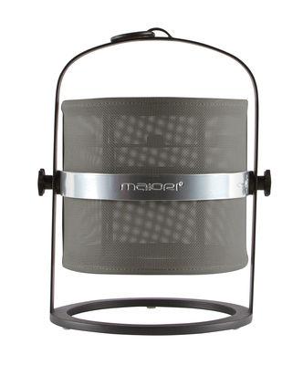 La Lampe Petite LED Solarlampe / kabellos - Gestell schwarz - Maiori - Schwarz,Kaki