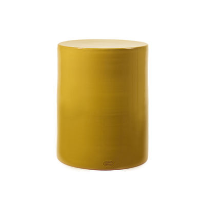 Mobilier - Tables basses - Table d'appoint Pawn / Tabouret - Ø 37 x H 46 cm - Céramique - Serax - Ocre - Terre cuite émaillée