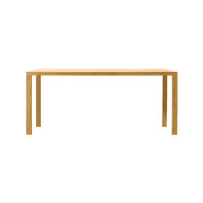 Jardin - Tables de jardin - Table rectangulaire Costes / 240 x 160 cm - Teck - Ethimo - Teck naturel - Teck naturel FSC