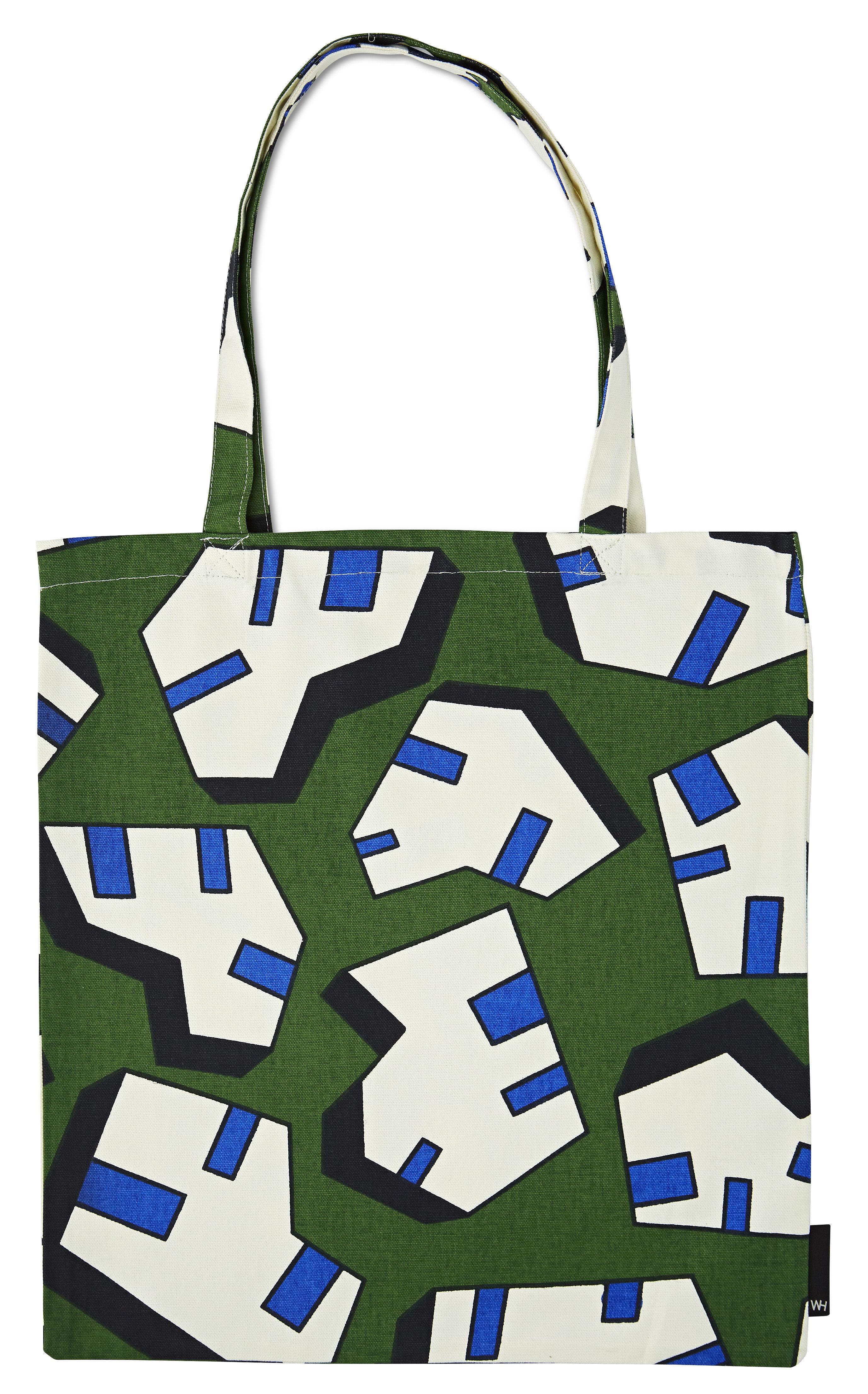 Accessoires - Sacs, trousses, porte-monnaie... - Tote bag Ice - Hay - Ice / Vert - Coton