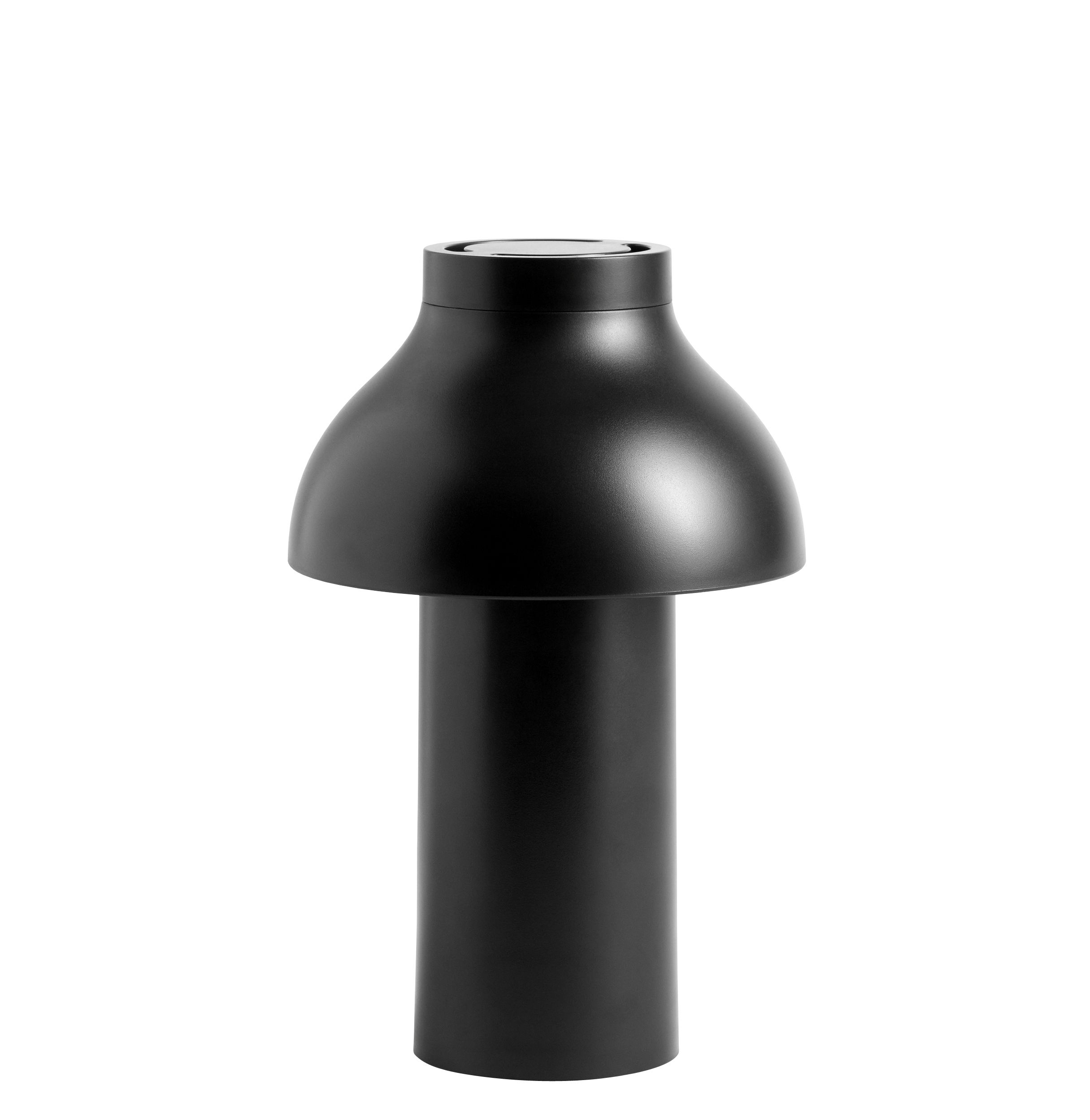 Lighting - Table Lamps - PC Portable LED Wireless lamp - / For outdoor use - USB charging by Hay - Black - ABS
