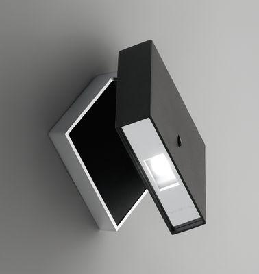 Image of Applique Alpha - LED di Vibia - Nero - Materiale plastico