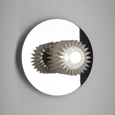 Applique In the sun Medium / Plafonnier - Ø 27 cm - DCW éditions argent,chromé en métal