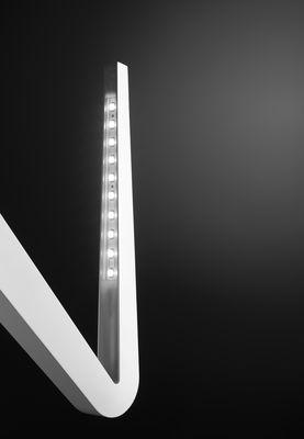 Luminaire - Appliques - Applique Tick W0 LED /Plafonnier - Rotaliana - Argent - Fonte d'aluminium