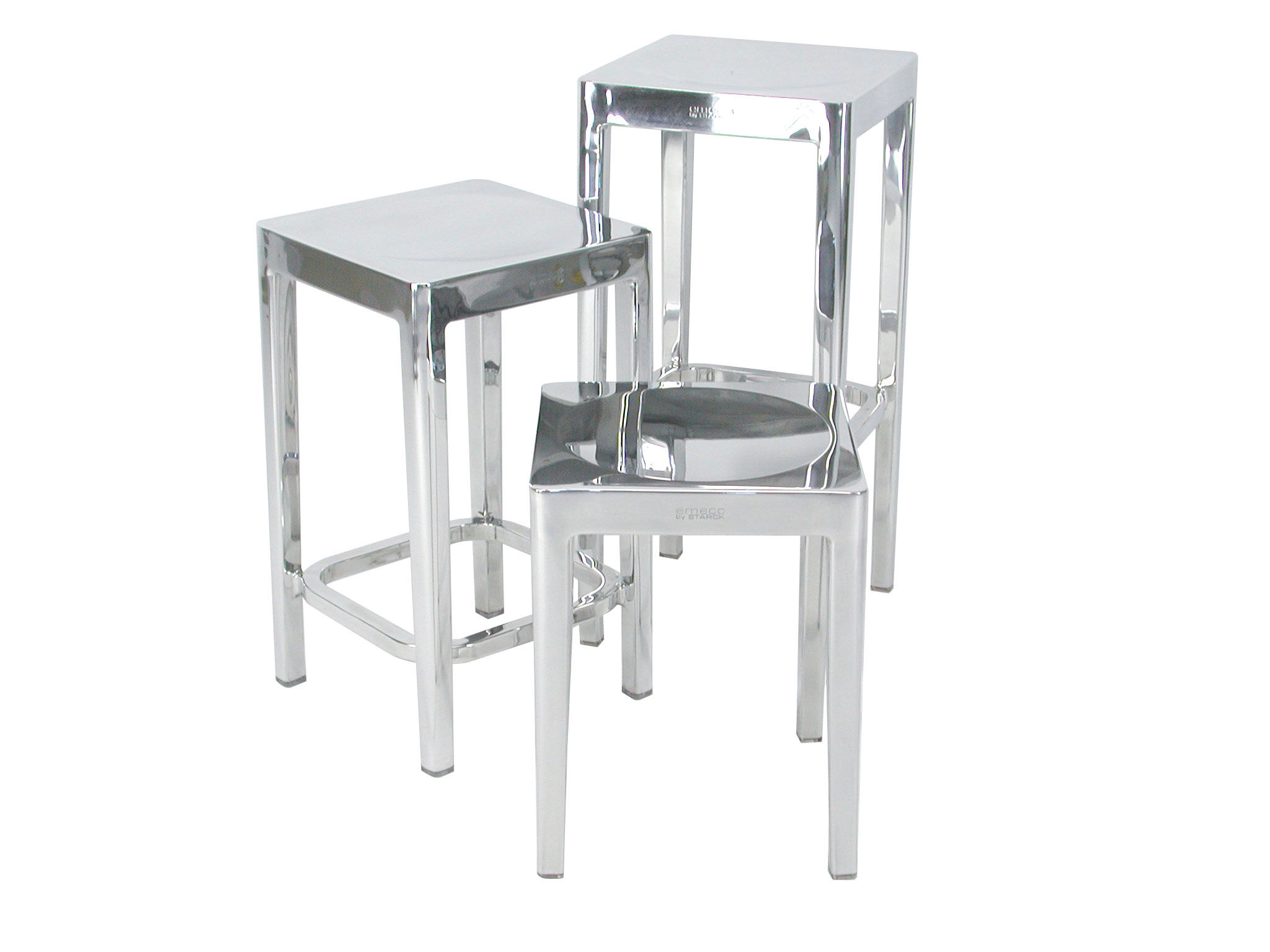 Bar Stool Indoor By Emeco Metal Made In Design Uk