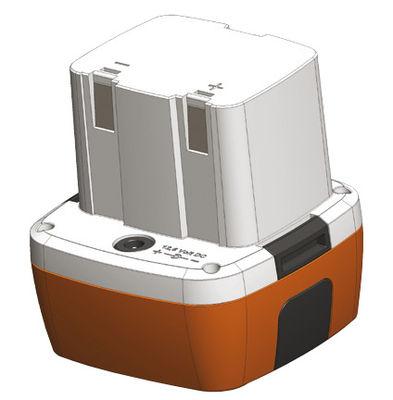 Image of Batteria - per sgabello e lampade Bloom H 40 cm & H 56 cm di Bloom! - Bianco - Materiale plastico
