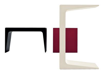 Möbel - Couchtische - CU Small Beistelltisch - Kristalia - weiß - Polyurhethan