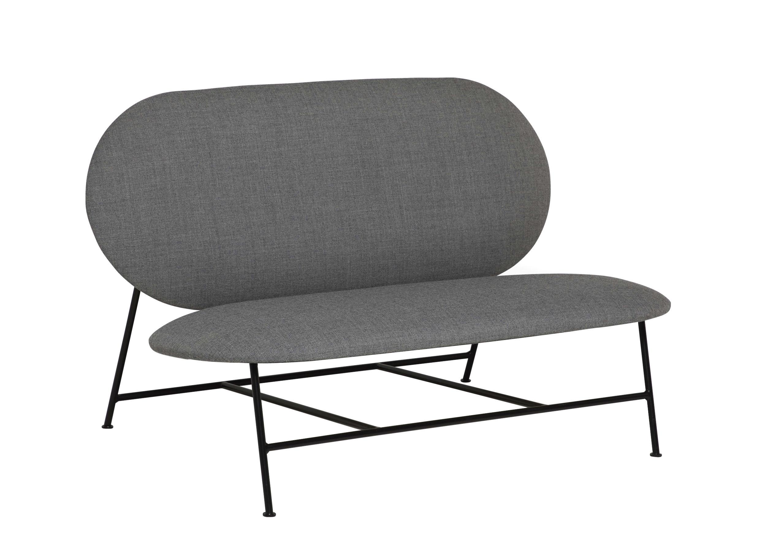Divano destro Oblong Northern - Grigio - L 120 x h 73 | Made In Design