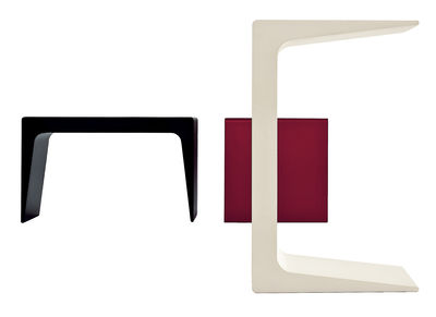 Furniture - Coffee Tables - CU Small End table by Kristalia - White - Polyurethane