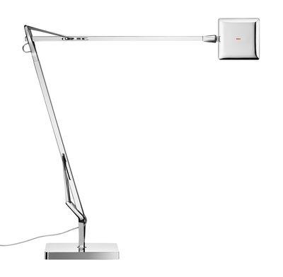 Lampe de table Kelvin Edge / LED - Flos chromé en métal