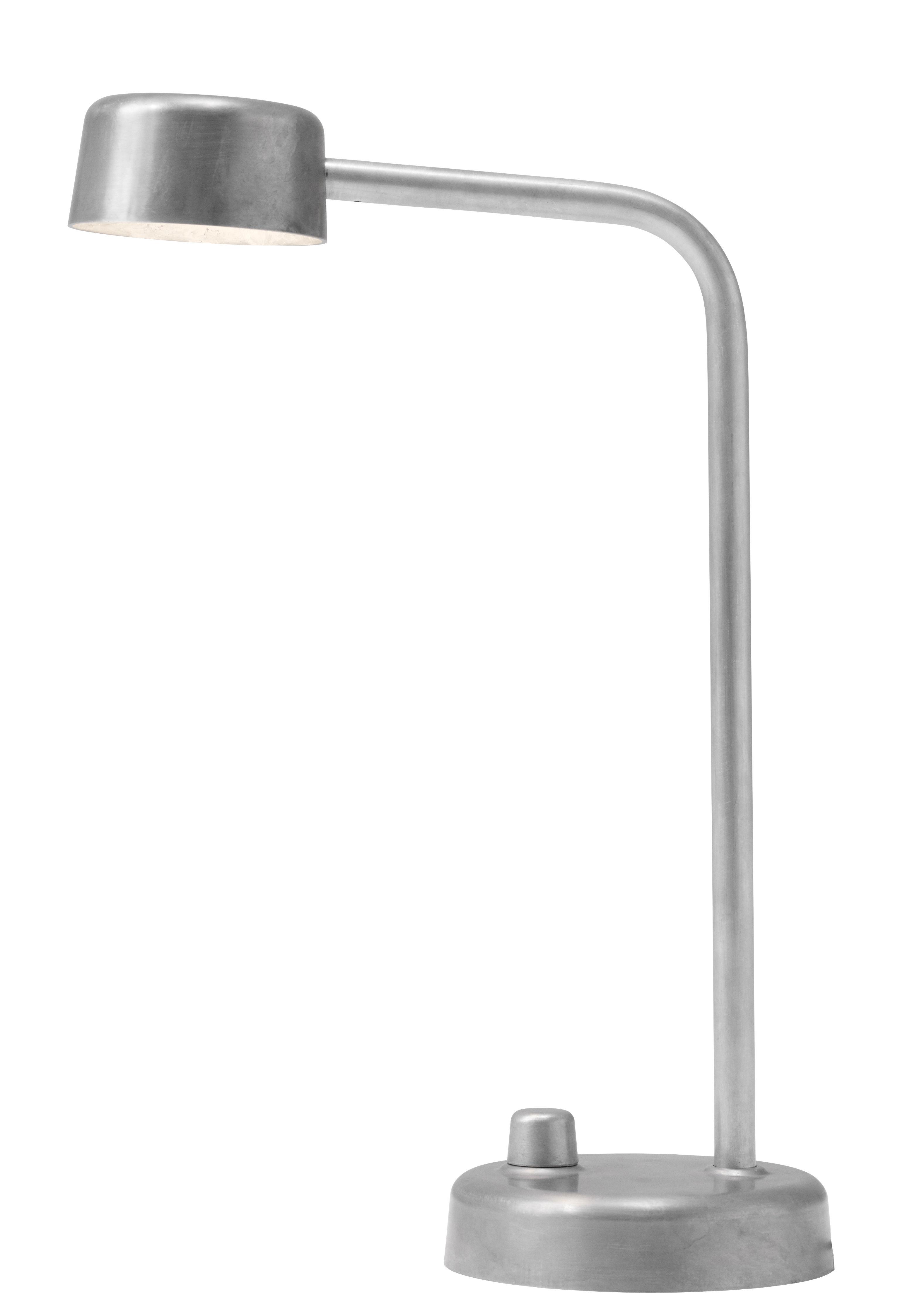 Luminaire - Lampes de table - Lampe de table Working Title / LED - Aluminium - &tradition - Aliminium - Aluminium