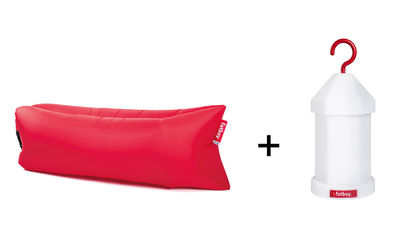 lampe ohne kabel von fatboy rot l 200 x l 90 x h 50 x 18 made in design. Black Bedroom Furniture Sets. Home Design Ideas