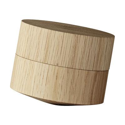 Pilon et mortier Volvi / Pour sel et épices - Chêne - AYTM chêne en bois