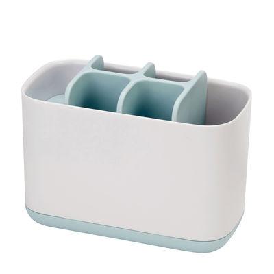 Accessori moda - Accessori bagno - Porta spazzolino da denti Easy-Store Large - / 6 scomparti di Joseph Joseph - Large / Blu & Bianco - ABS