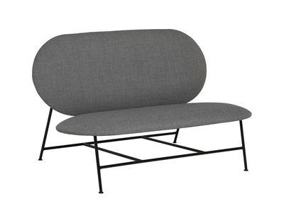 Oblong Sofa / L 120 cm - Northern - Grau,Schwarz