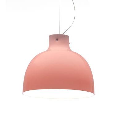 Suspension Bellissima Glossy / Ø 50 cm - Plastique - Kartell rose en matière plastique