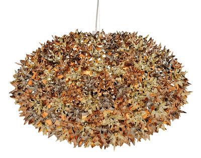 Suspension Bloom Bouquet / Large Ø 53 cm - Métallisée - Kartell bronze,cuivre,or en matière plastique