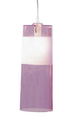 Suspension Easy - Kartell violet en matière plastique