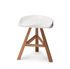 Tabouret Heidi / Plastique & bois - Established & Sons