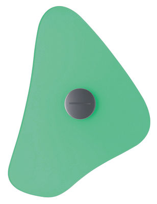 Lighting - Wall Lights - Bit 4 Wall light with plug by Foscarini - Green - Glass, Metal