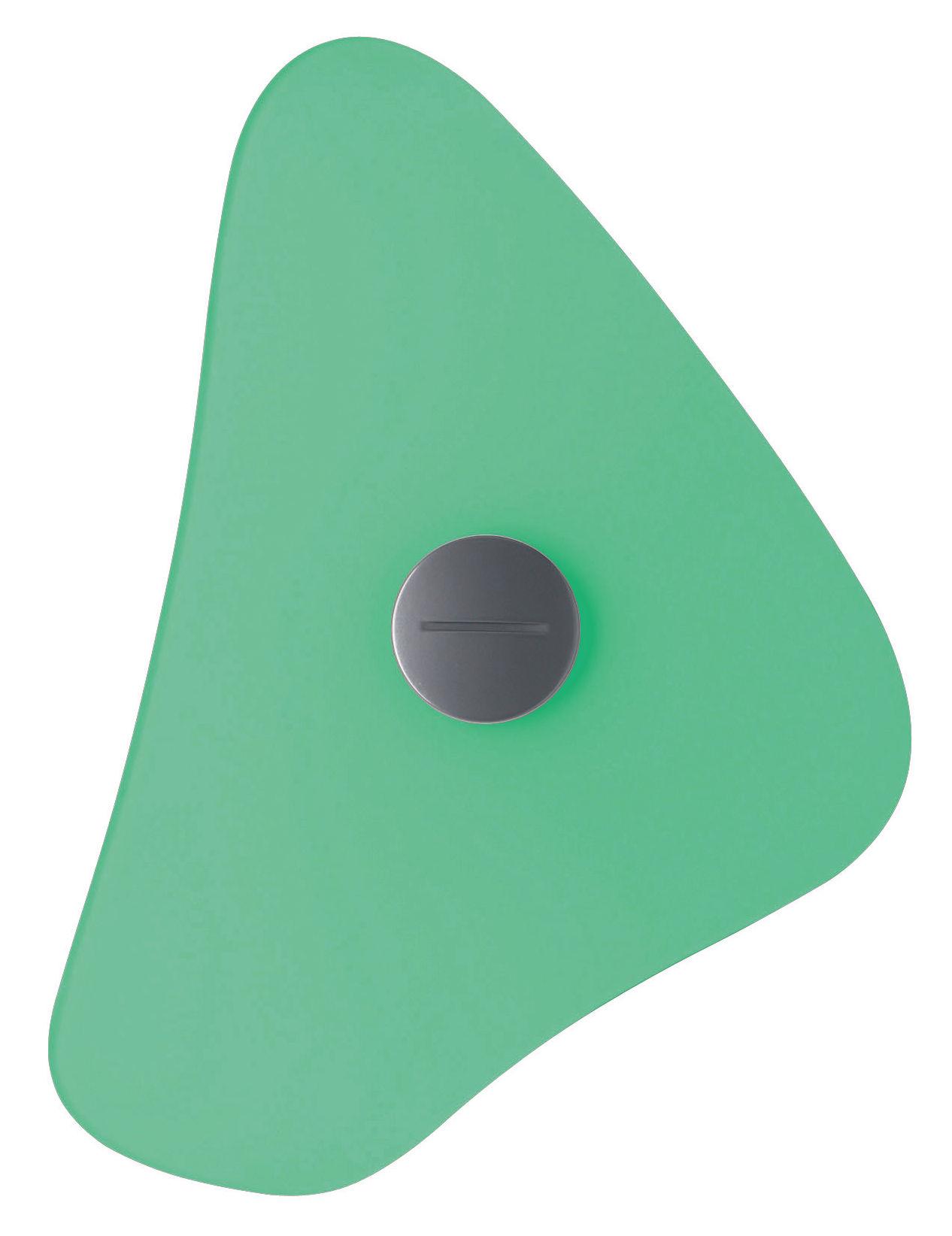 Leuchten - Wandleuchten - Bit 4 Wandleuchte mit Stromkabel - Foscarini - Grün - Glas, Metall