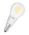 Ampoule LED E14 dimmable / Sphérique dépolie - 5W=40W (2700K, blanc chaud) - Osram