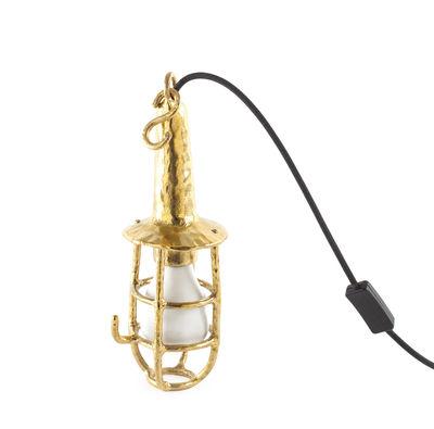 Luminaire - Lampes de table - Applique Fingers / Applique ou suspension - Seletti - Laiton - Laiton, Tissu