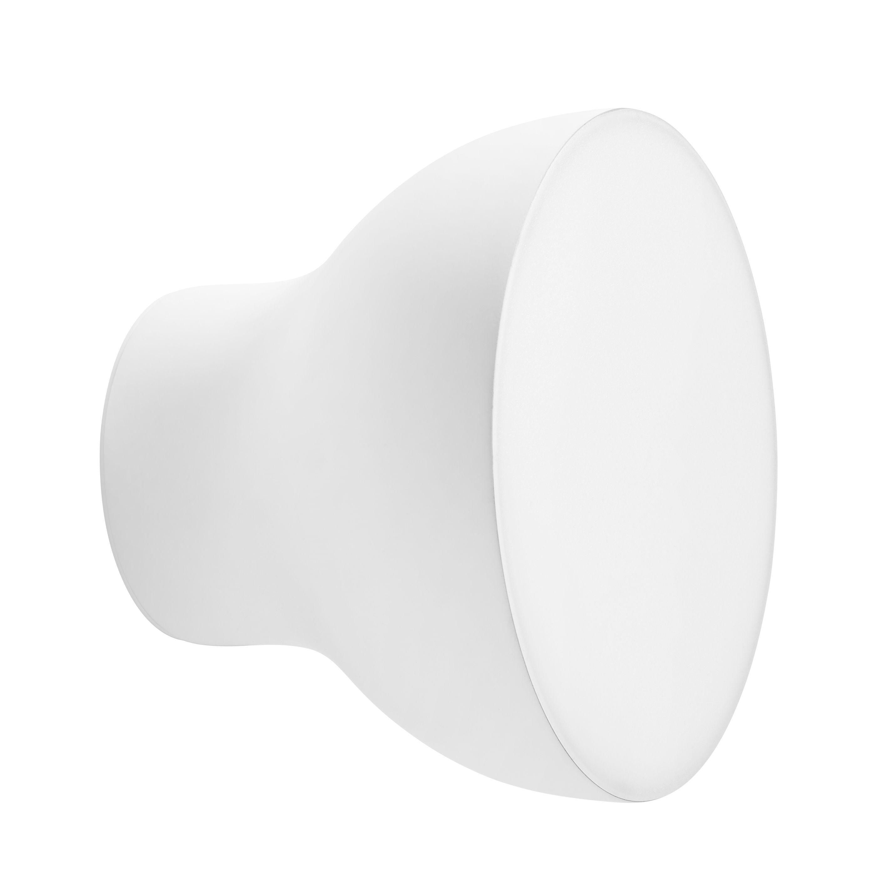 Luminaire - Appliques - Applique Passepartout JH11 / LED - Ø 20 x H 15,5 cm - &tradition - Blanc mat - Métal laqué, Polycarbonate