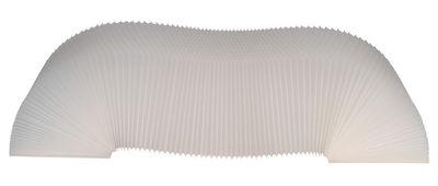 Banc K-Bench extensible / L 64 à 250 cm - Vange translucide en matière plastique