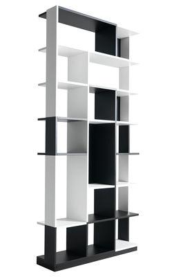 Mobilier - Etagères & bibliothèques - Bibliothèque Sudoku - Horm - Noir & blanc - Contreplaqué de bois laqué