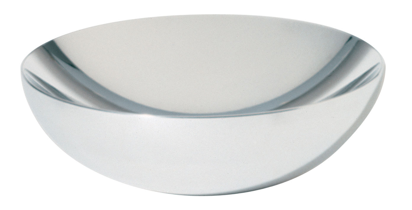 Tableware - Fruit Bowls & Centrepieces - Double Bowl by Alessi - Diameter 32 cm - Polished steel