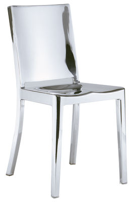 Chaise Hudson Indoor / Alu poli - Emeco aluminium poli en métal