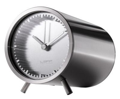 Horloge à poser Tube / Ø 5 cm - LEFF amsterdam acier en métal