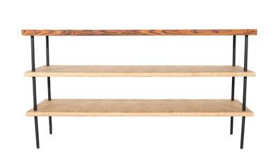 Möbel - Konsole - Essence Konsole / Holz & Rattan - Maison Sarah Lavoine - Holz & Rattan - Palissandre, Rattan, Stahl