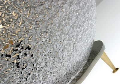 Iceglobe lampada da pavimento Ø cm bianco by lumen center