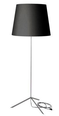 Lampadaire Doubleshade - Moooi noir en tissu