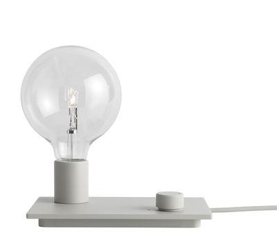 Luminaire - Lampes de table - Lampe de table Control / Métal - Variateur - Muuto - Gris - Fonte d'aluminium