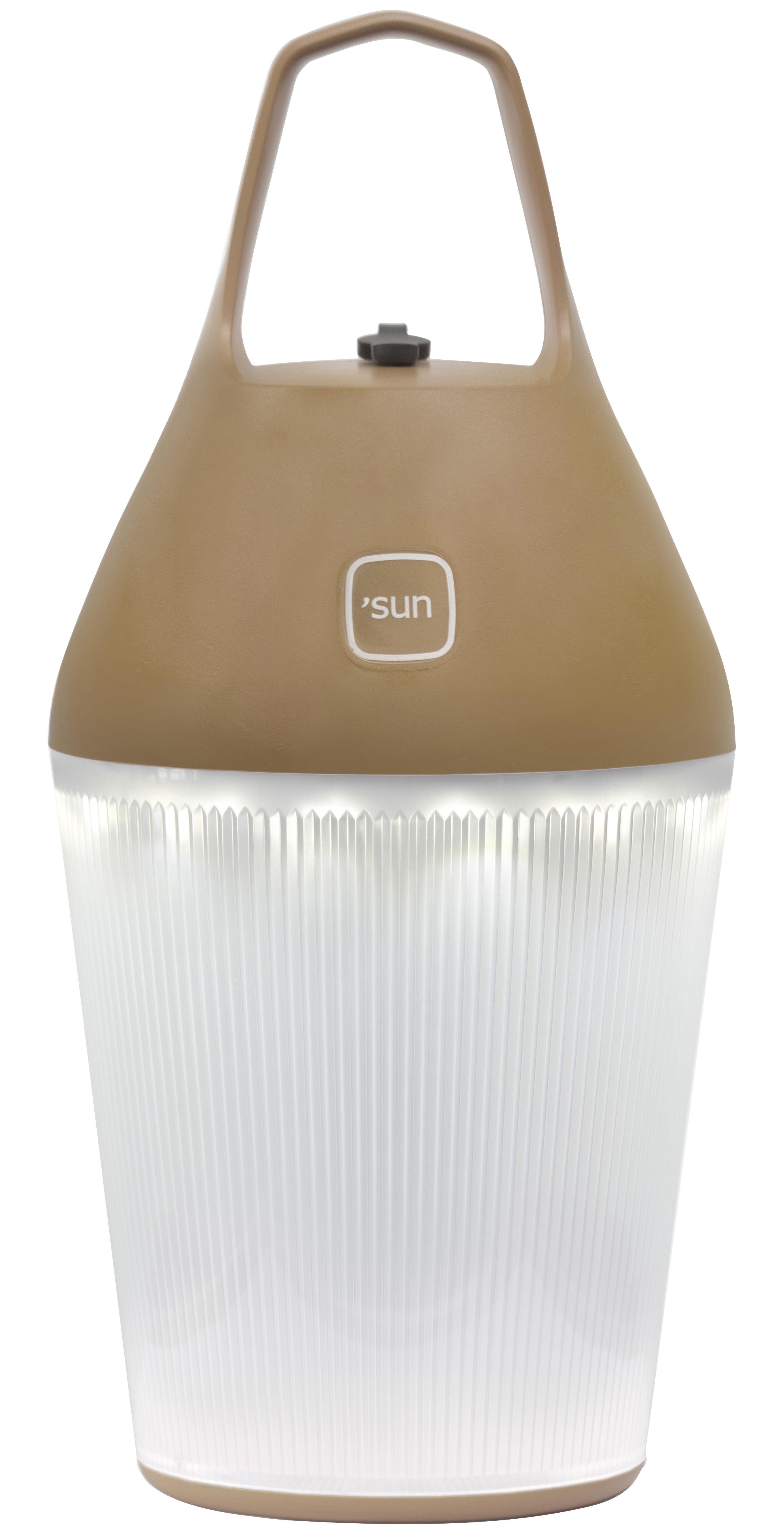 Luminaire - Lampes de table - Lampe sans fil Nomad / Recharge sur secteur - O'Sun - Ambre - ABS