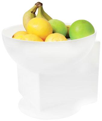 Tischkultur - Salatschüsseln und Schalen - Reveal Schale / Ø 25 cm - Thelermont Hupton - Blasses Cremeweiß / Ø 25 cm - Fayence