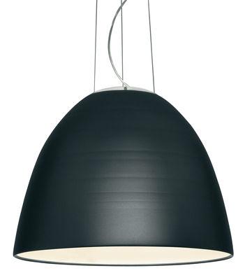 Suspension Nur LED / Ø 55 cm - Artemide gris anthracite en métal