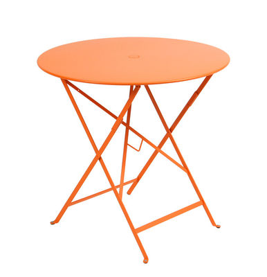 Table pliante Bistro Fermob - Orange   Made In Design