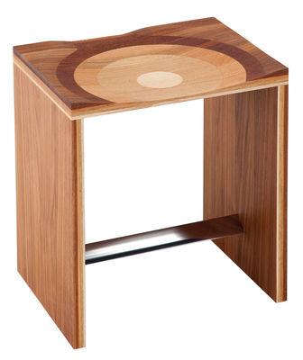 Tabouret Ripples / 5 essences de bois - Horm bois naturel en bois