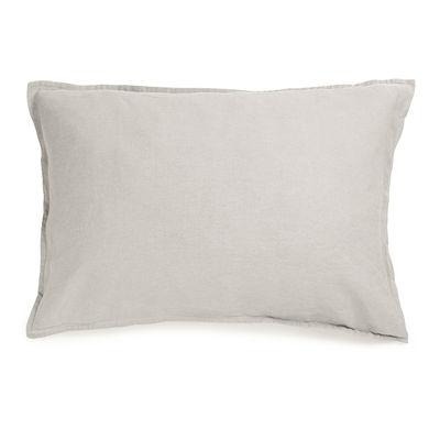 Déco - Textile - Taie d'oreiller 50 x 70 cm / Lin lavé - Au Printemps Paris - 50 x 70 cm / Beige - Lin lavé