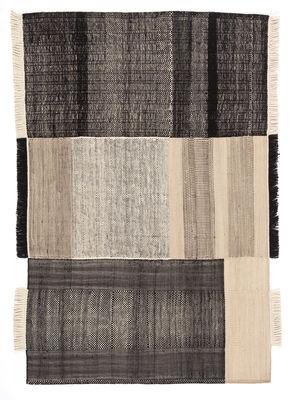 Déco - Tapis - Tapis Tres / 200 x 300 cm - Nanimarquina - Noir - Coton, Feutre, Laine de Nouvelle-Zélande