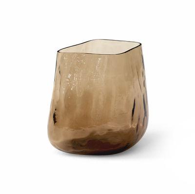 Déco - Vases - Vase Collect SC67 / H 23 cm - Verre soufflé bouche - &tradition - H 23 cm / Ambre (Forest) - Verre soufflé bouche